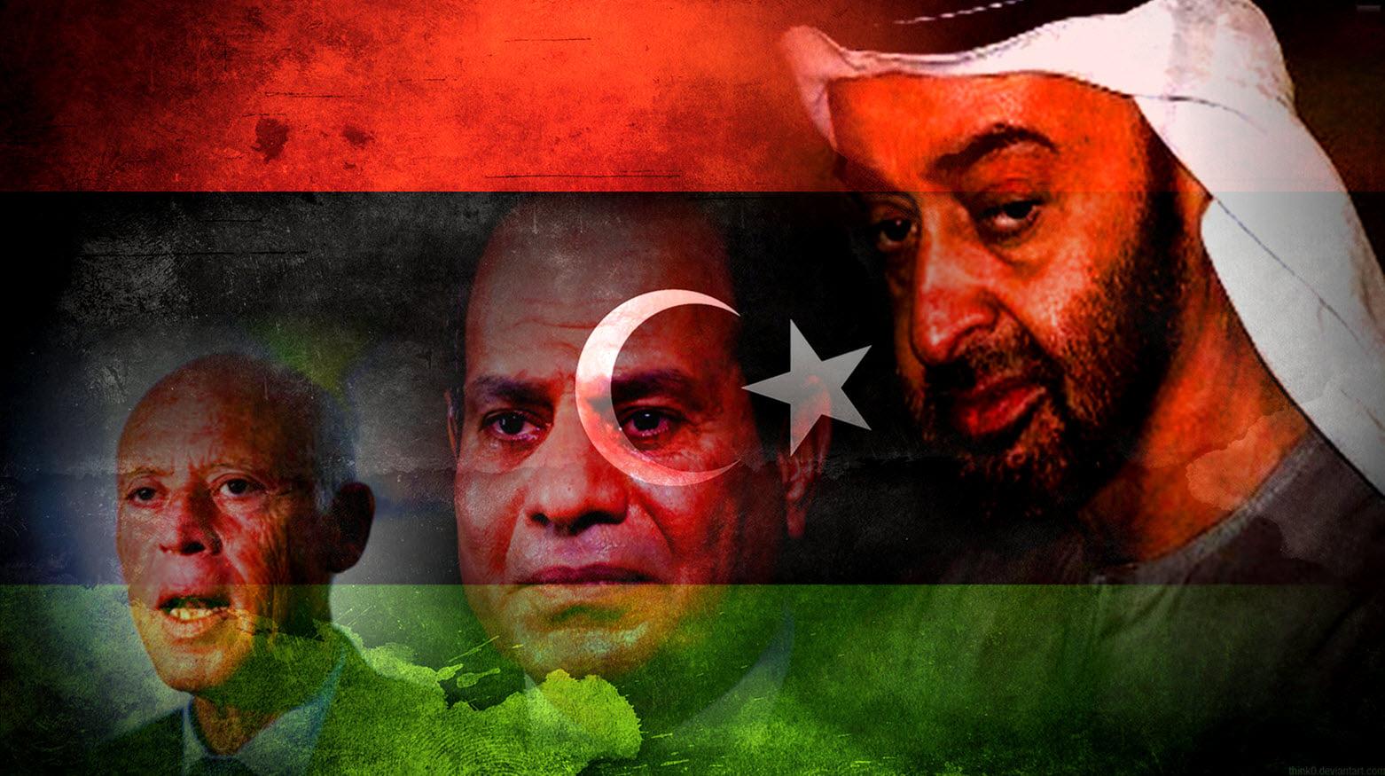 خطّة خبيثة تستهدف التجربة الليبيّة.. السيسي يستعين بسعيّد!
