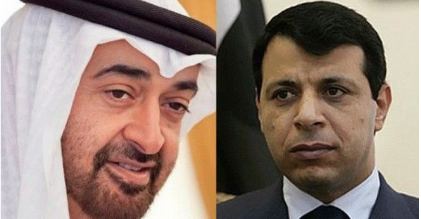 هنا محمد بن زايد.. حاكم الإمارات والسعودية ومصر وقاهر الربيع العربي