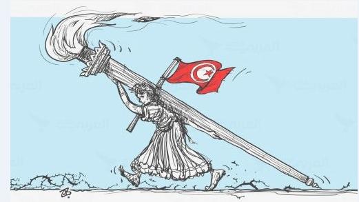في الذكرى الخامسة للثورة التونسية
