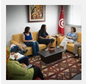 الهيئة تستقبل ممثّلة منظّمة مراسلون بلا حدود في المغرب العربي