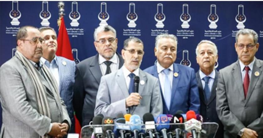 إعلان تشكيل حكومة ائتلافية بالمغرب من ستة أحزاب