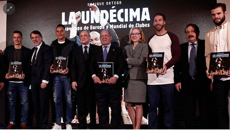 قدم: ريال مدريد يصدر كتابًا حول إنجازاته الكروية عام 2016