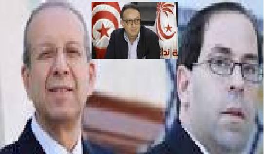 فوزي اللومي: رئيس الحكومة الشاهد يخاف من حافظ قائد السبسي