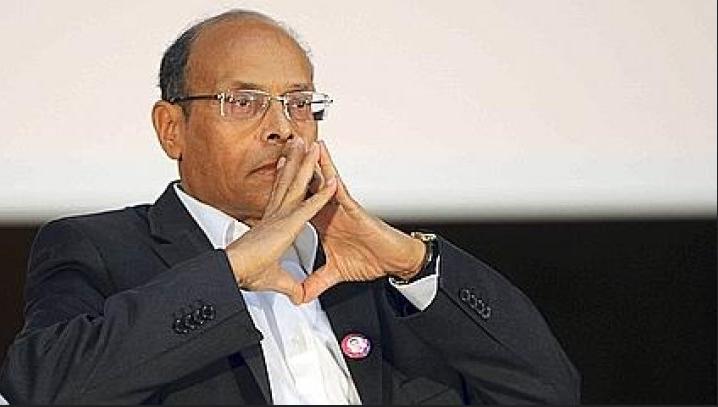 """المنصف المرزوقي يهاجم النظام الحاكم في تونس: """"متخبط ومتفكك ومتعفن"""""""